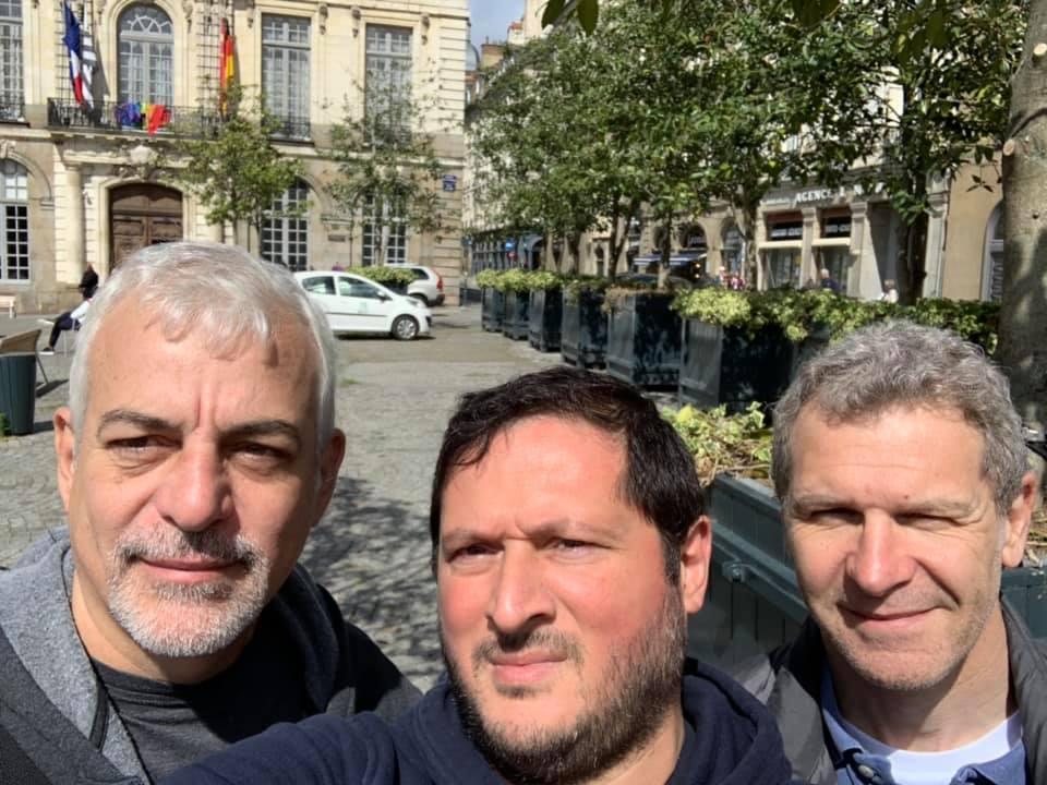 Passage de ceintures sur Rennes avec le club kmcr