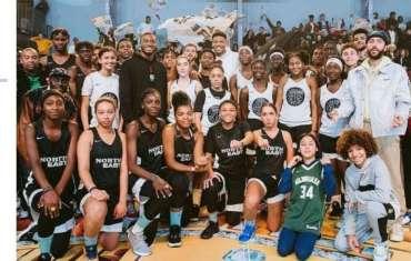 Gymnase Jaurès utilisé cette semaine pour les évènements liés au match NBA de Pa